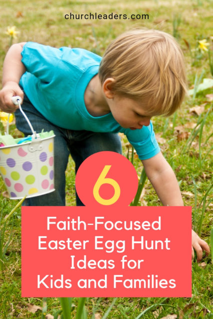 Great Easter Egg Hunt ideass that can be used to achieve a kid-friendly, family-driven, and Gospel-centered Easter event. #Easter #Resurrection #Christian #ChristianEasterIdeas #FamilyEaster #EggHunt #EasterEggHunt #Church #EaterEggHuntIdeasforChurch #FamilyEaster