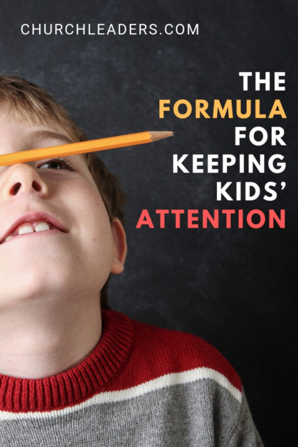 keeping kids' attention
