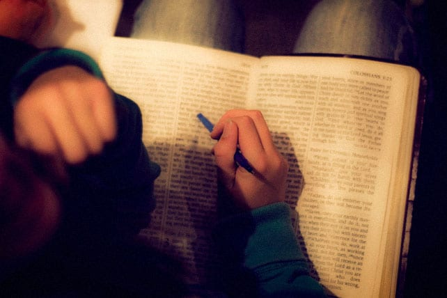 Five Reasons I'm Starting to Read a Paper Bible Again