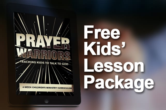Free resources for childrens ministry leaders churchleaders free kids lesson package prayer warriors fandeluxe Image collections