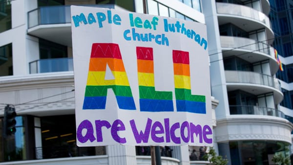 The position of gay rights in the lutheran church