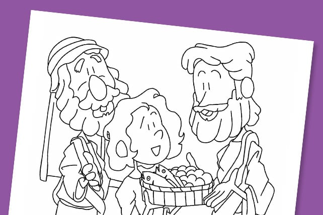 photo regarding Free Printable Jesus Coloring Pages known as Free of charge Printable: \