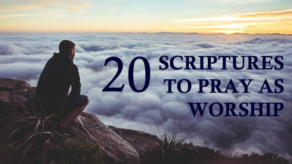 scriptures to pray