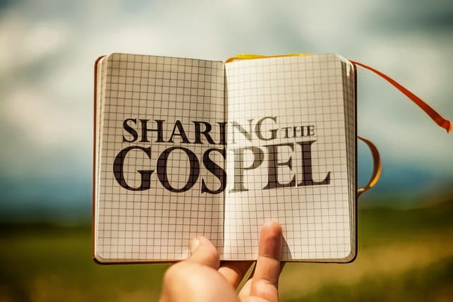 Image result for image sharing the Gospel