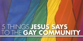 Jesus Says to the Gay Community