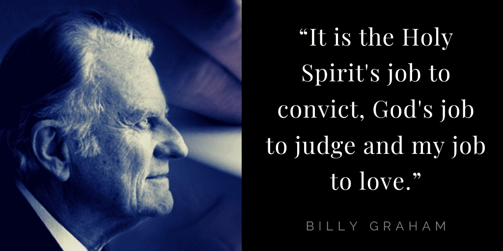 Billy Graham quotes about hope: Holy Spirit