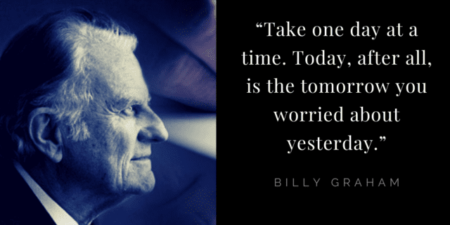 Billy Graham quotes about faith: ODAAT