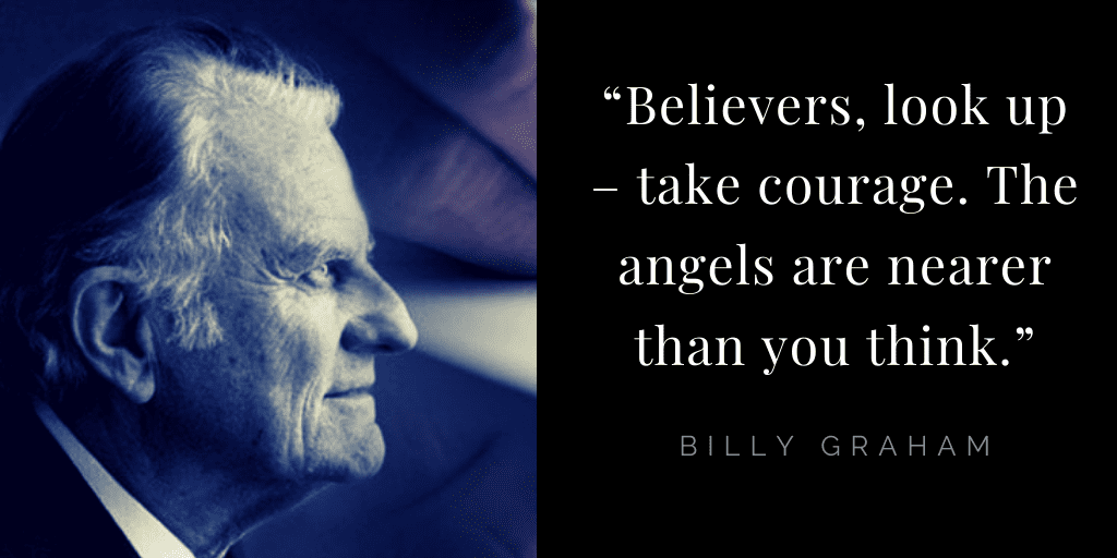 Billy Graham quotes about hope: angels