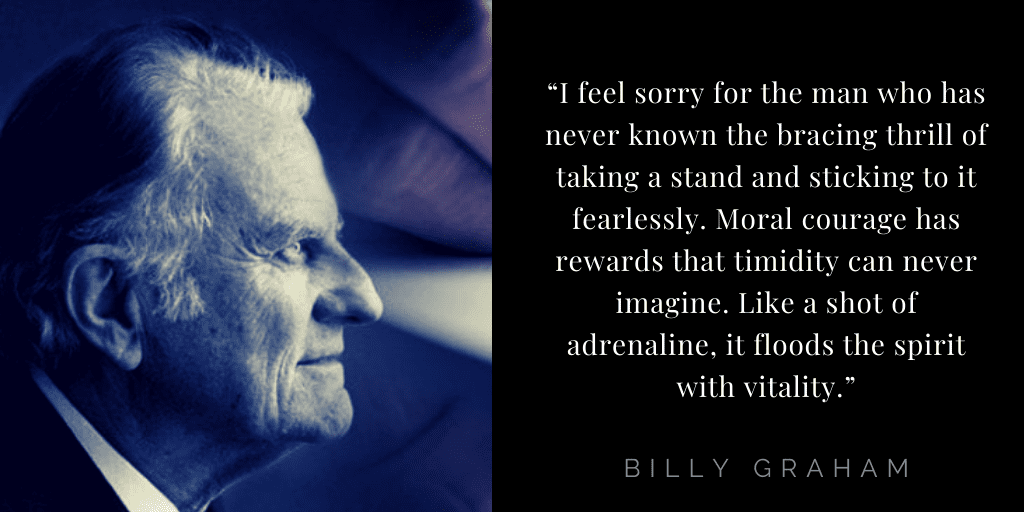 Billy Graham quotes about faith: stand