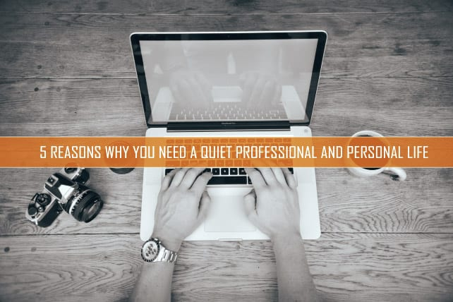 5 reasons why you need a quiet professional and personal life - Reasons why you need stacking chairs ...