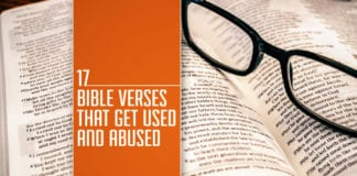 misused verses in the Bible