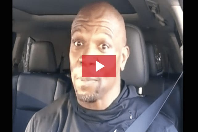 Actor Terry Crews Shares FB Video About Being Set Free From Pornography Addiction