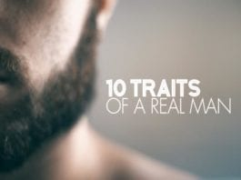 10 traits of a real man