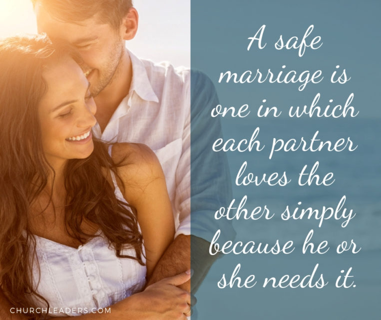 marriage advice on safe marriage