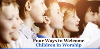 children worship