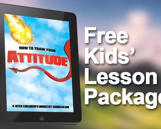 Free resources for childrens ministry leaders churchleaders free kids lesson package how to train your attitude fandeluxe Image collections