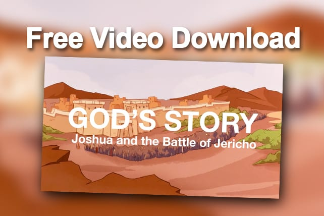 Free Video Download Gods Story Joshua And The Battle Of Jericho