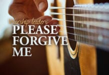 worship leader forgive