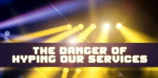 Danger hype service church
