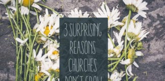 Churches DON'T Grow