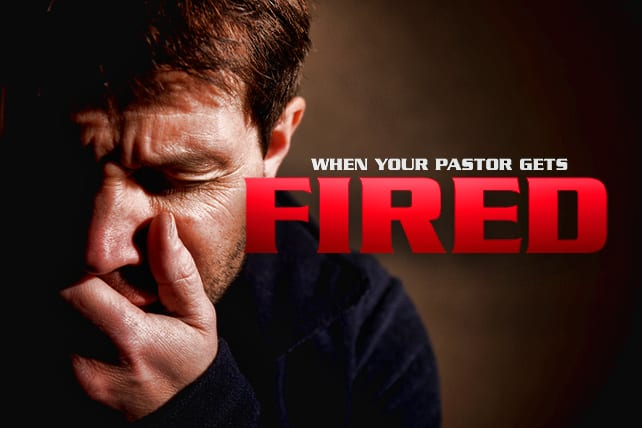 Pastor Gets Fired