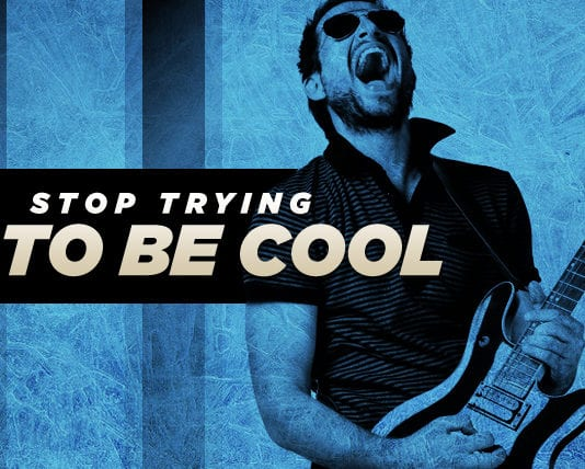 Worship Leader, Stop Trying to Be Cool