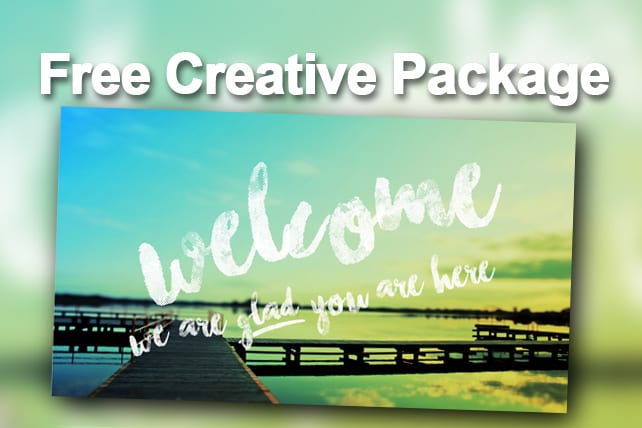 free creative package photography welcome slides