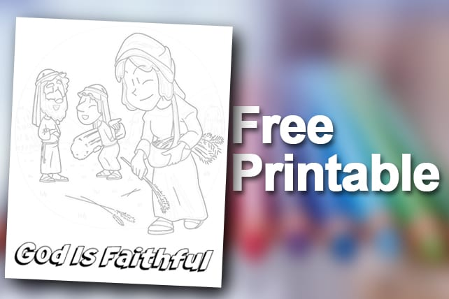 Free Printable Ruth Naomi And Boaz Coloring Page Colorong Pictures Of Ruth Namio