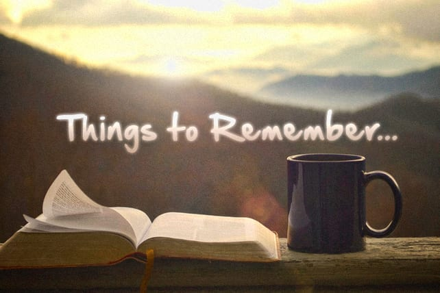 4 Things to Remember When Reading the Bible