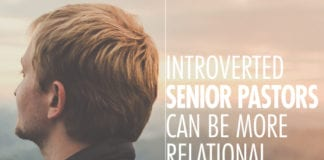 14 Ways Introverted Senior Pastors Can Be More Relational