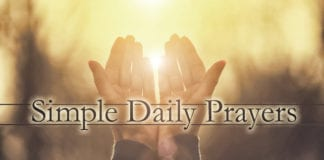 Seven Simple Daily Prayers