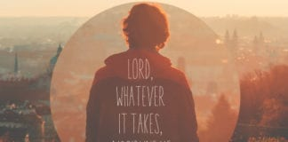Lord, Whatever It Takes, Discipline Me