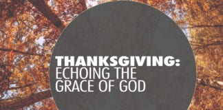 Thanksgiving: Echoing the Grace of God
