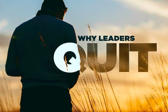 Top 5 Reasons Small Group Leaders Quit