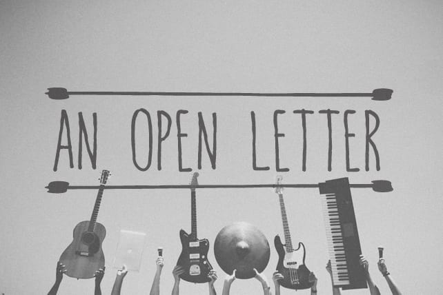 An Open Letter to Worshipers