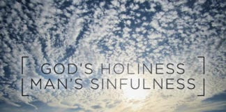 The Holiness of God and the Sinfulness of Man