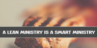 A Lean Ministry is a Smart Ministry