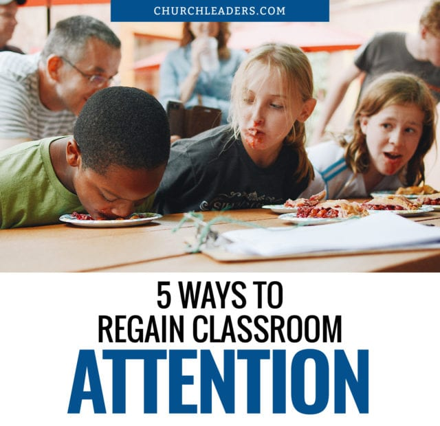 classroom attention