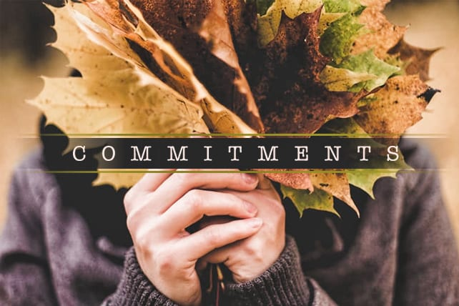 Don't Make Resolutions. Make Commitments.