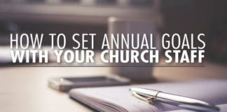 How to Set Annual Goals with Your Church Staff