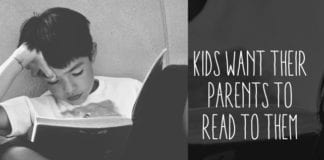 80% of Kids Want Their Parents to Read to Them and, Relatedly, We're Kinda Famous