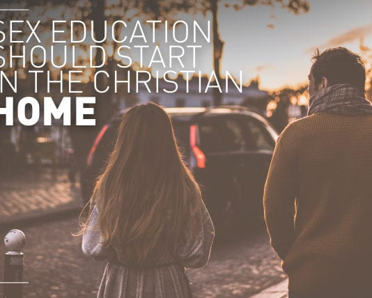 Sex Education Should Start in the Christian Home