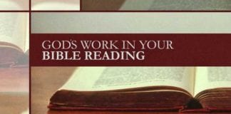 God's Work in Your Bible Reading