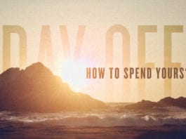 How You Should Spend Your Day Off