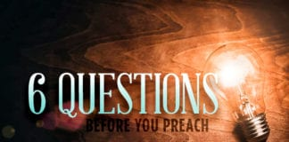 Don't Preach Until You've Asked These 6 Questions