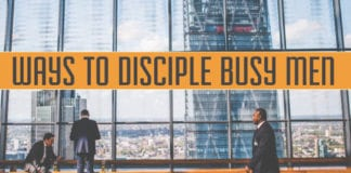 4 Ways to Disciple Busy Men