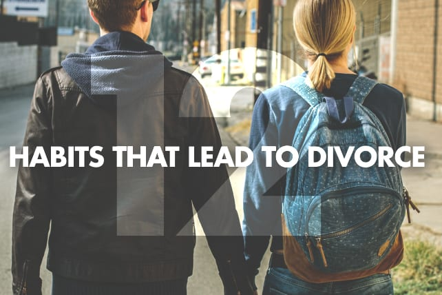 habits that lead to divorce
