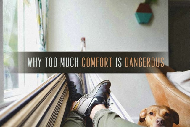 Why Too Much Comfort is Dangerous