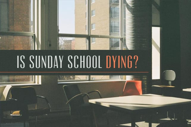 Is Sunday School Dying a Slow Death?