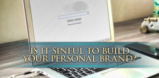 Is It Sinful to Build Your Personal Brand?